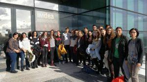 Cerónica de la visita a IMDEA Nanociencia