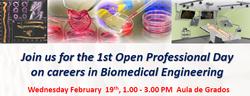 I Jornada de salidas profesionales para el grado de Bioingeniería Médica UC3M