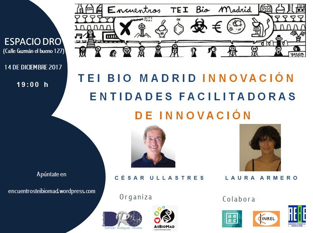 Fin de año con los encuentros TEI Bio Madrid 2017