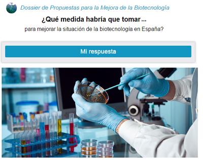 Propuestas para mejorar el sector de la biotecnología en España