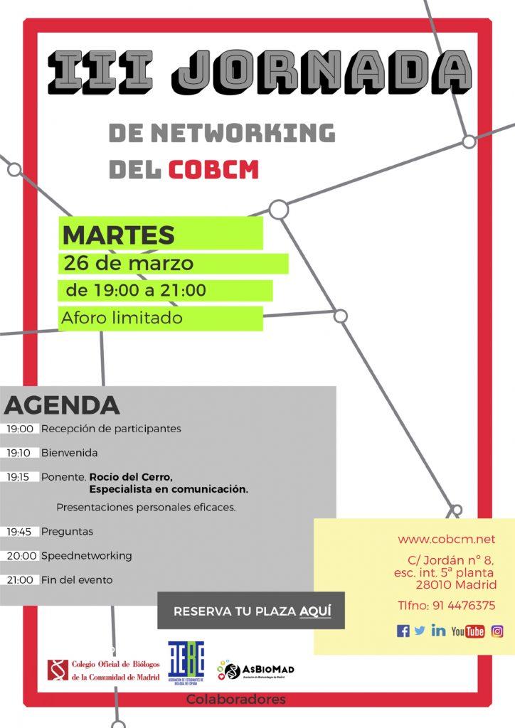 III Jornada de Networking del COBCM