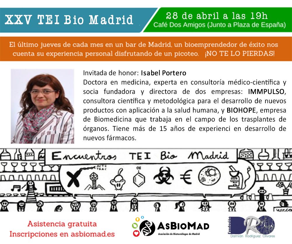 XXV Encuentro TEI Bio Madrid