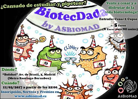 ¡Ven a nuestra Biotecdada 2.0!