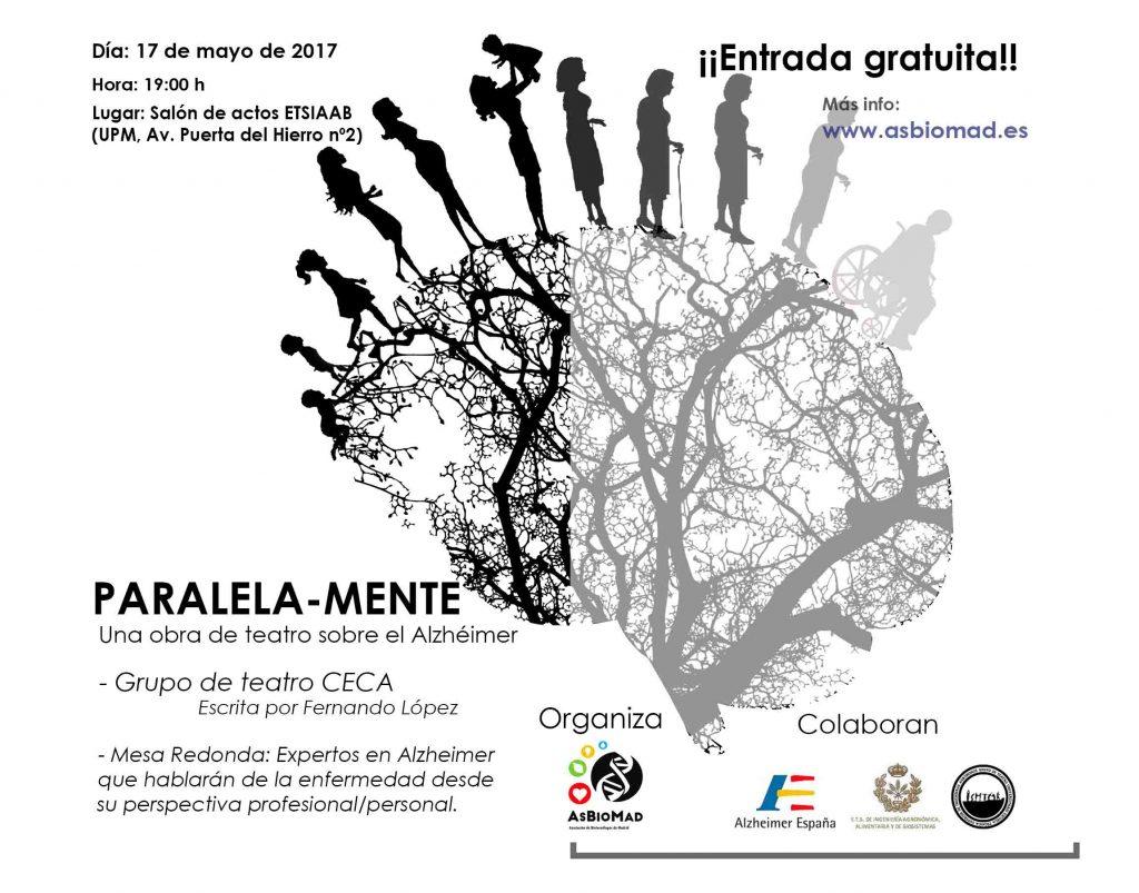 Paralela-Mente: Obra de teatro sobre el Alzhéimer + Mesa redonda