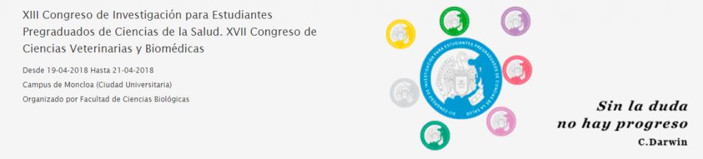 XIII Congreso de Investigación de Pregraduadosen Biociencias & XVII Congreso de Ciencias Veterinarias y Biomédicas