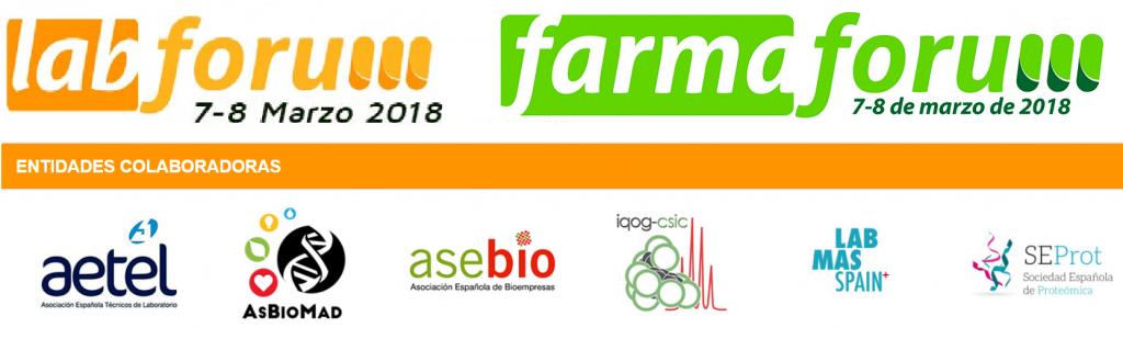 Labforum y Farmaforum- 7 y 8 marzo